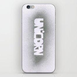 UNICORN.  iPhone Skin