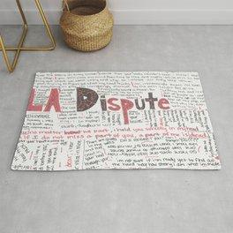 La Dispute Lyrics Rug