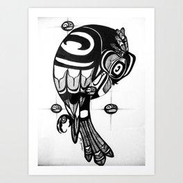 Raven Steals the Stars Art Print