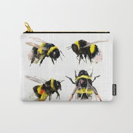 Bumblebee, Bee art, bee design, bees Carry-All Pouch