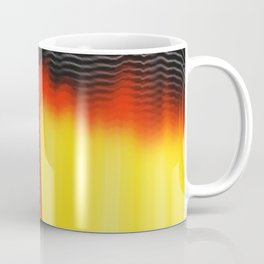 Points and Edges Abstract Coffee Mug