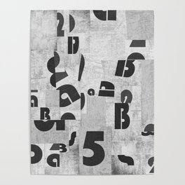 Abstract pattern 51 Poster