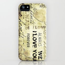 Two Hearts - for iphone iPhone Case
