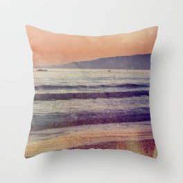 Searching for the Ocean's Serenity Throw Pillow