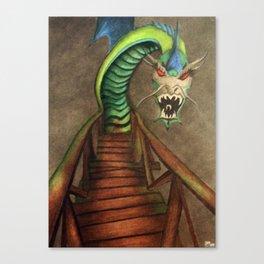 Dragon Bridge Canvas Print