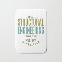 Structural Engineering Thing Bath Mat