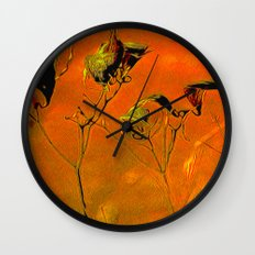 Dry Pods Wall Clock