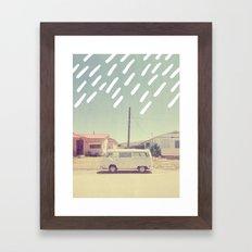 Volkswagen, New Mexico Framed Art Print