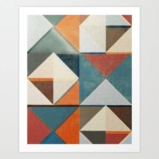 Trigonale 4 Art Print