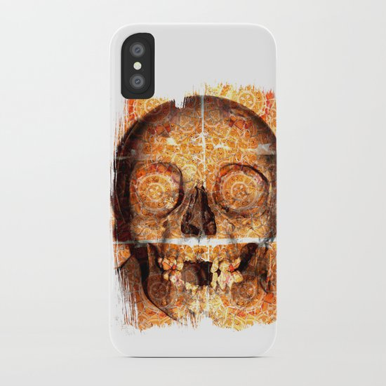 mosaica skully iPhone Case
