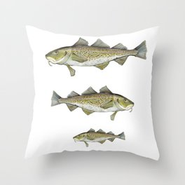 CodFish Throw Pillow