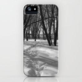 Deer Tracks iPhone Case