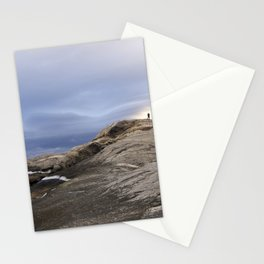 Finmark, North of Norway, dramatic landscape Stationery Cards