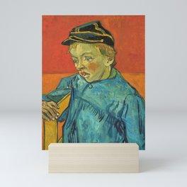 12,000pixel-500dpi - Vincent van Gogh - The Schoolboy, Camille Roulin - Digital Remastered Edition Mini Art Print