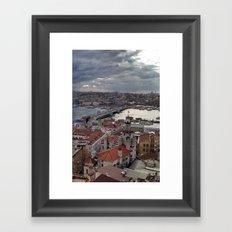 Galata Framed Art Print