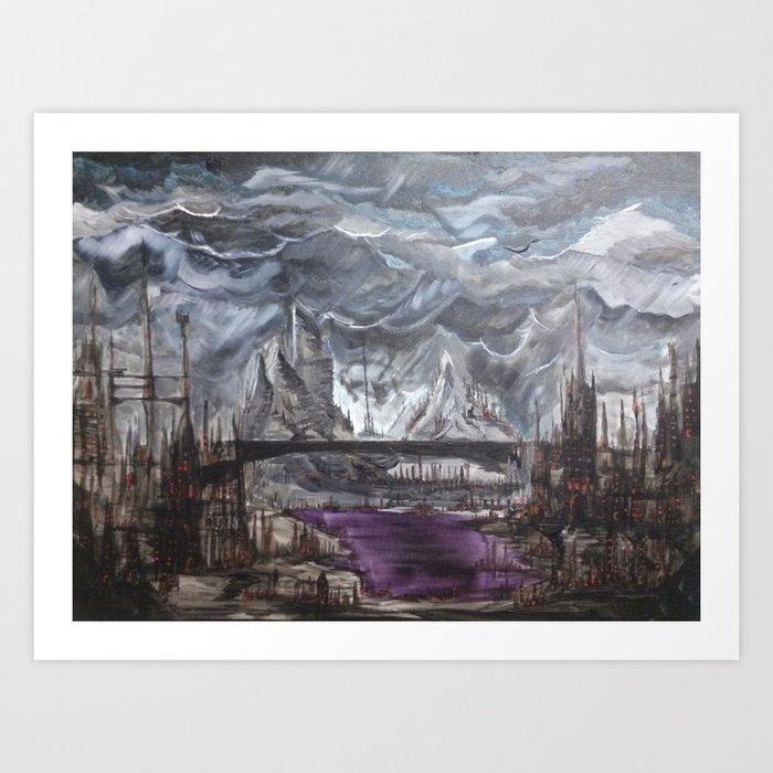 The Underhollows Art Print