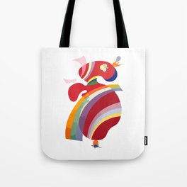Wassily Kandinsky La Forme Rouge 1938, Artwork Reproduction, Design for Posters, Prints, Tshirts, Men, Women, Kids, Youth Tote Bag