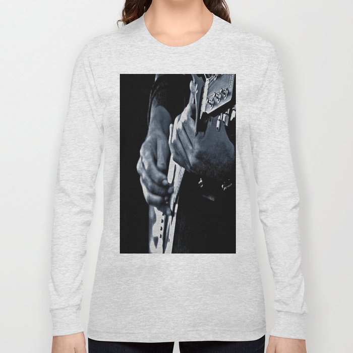 Music Has No Color Long Sleeve T-shirt