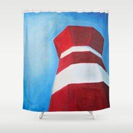 Hilton Head Island Lighthouse Shower Curtain