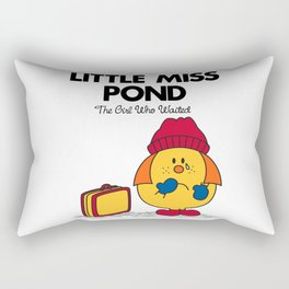 Little Miss Pond Rectangular Pillow