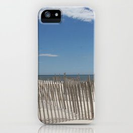 Long Island Beach iPhone Case