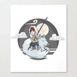 Mononoke (Princess Mononoke) Canvas Print