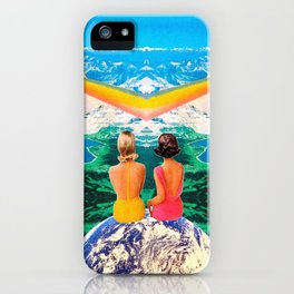 Rainbow machine lookout iPhone Case