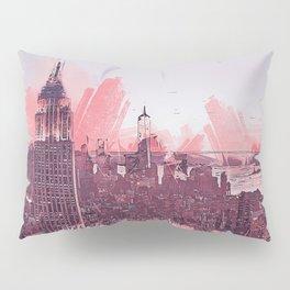 New York Panorama Pillow Sham