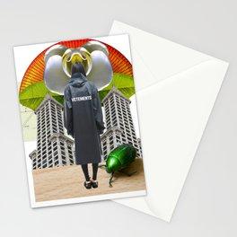 Vetements Crush by Lenka Laskoradova Stationery Cards
