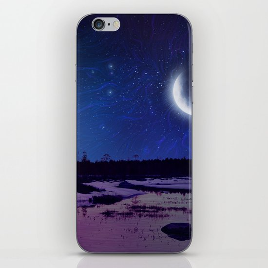 Night - From Day And Night Painting iPhone & iPod Skin