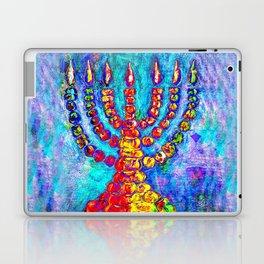 Temple Menorah Laptop & iPad Skin