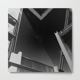 Abstract Night Sky Metal Print