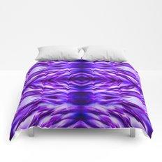 Cyber Monday   Purple Blue Night Comforters