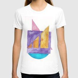 180818 Geometrical Watercolour 2 T-shirt