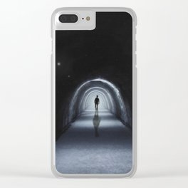 Sleep walk Clear iPhone Case