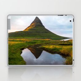 Kirkjufell Reflection Laptop & iPad Skin