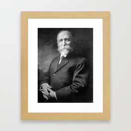 John Harvey Kellogg Portrait Framed Art Print