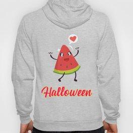 Halloween Watermelon Motivational Design Hoody