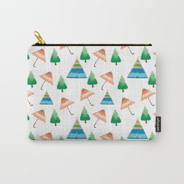 Umbrella Home Pattern  Carry-All Pouch