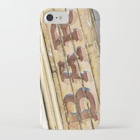 bar iPhone & iPod Cases featuring Bar by Chantal Seigneurgens