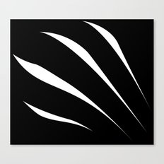 Negative Claw Canvas Print