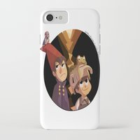 over the garden wall iPhone & iPod Cases featuring Over the Garden Wall by stubbornpotato