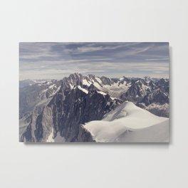 mountain spine Metal Print