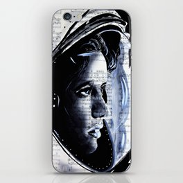 The First mother in space  Anna Lee Fisher iPhone Skin
