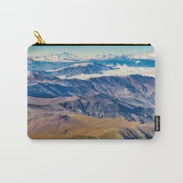 Andes Mountains Aerial View, Chile Carry-All Pouch
