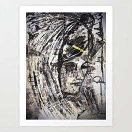 inked #2 Art Print