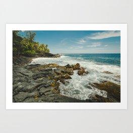 Hawaiian Ocean III Art Print