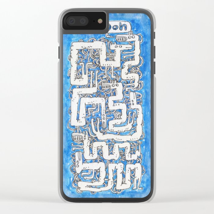 Ooh Clear iPhone Case
