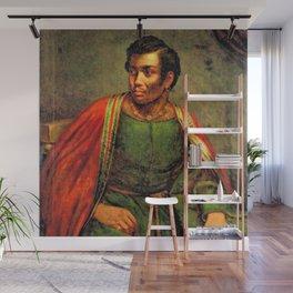 African American Shakespearian actor Ira Aldridge Painting by Henry P. Briggs Wall Mural