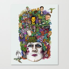 THE GOLDEN GOD Canvas Print
